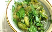 سوپ اسفناج و برنج، مناسب برای ماه اول با
