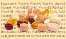 ویتامین ها و ﻣﻜﻤل های  ﻏﺬﺍﻳﻰ  رو  ﭼﻪ ﻣﻮﻗ