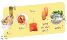 9 غذای سالم که دارای ویتامین D بالا هستن