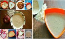 طرز تهیه حریره بادام برای نوزادان
