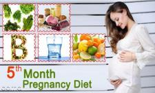 تغذیه در ماه پنجم بارداری