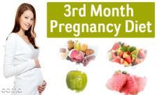 تغذیه در ماه سوم بارداری