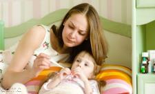 درمان خانگی تب کودکان