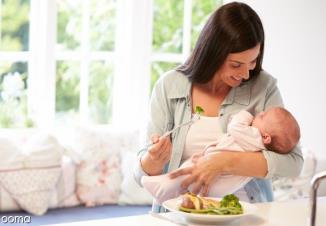 رژیم غذایی ضد کولیک برای مادران شیرده