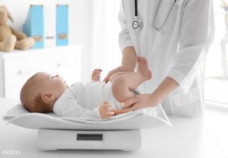 وزن نوزاد سه ماهه باید چند باشه؟