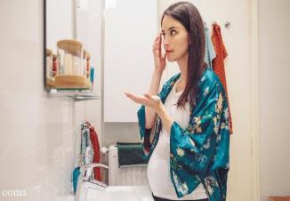 ممنوعیت استفاده از لوازم آرایشی در طول بارداری