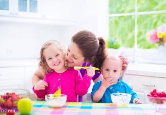 غذاهای چاق کننده برای کودک یک ساله