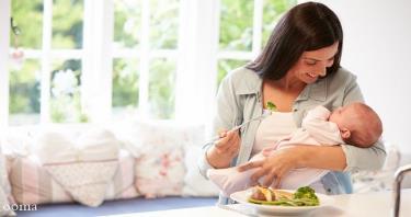 در رژیم شیردهی چه موادی باید بیشتر مصرف شود؟