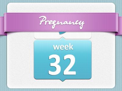 هفته سی و دوم بارداری، هفته 32 بارداری