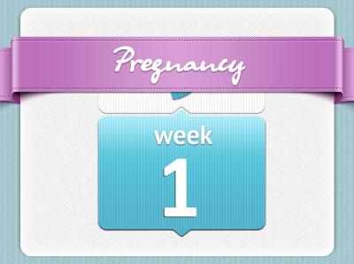 هفته اول بارداری، هفته اول حاملگی