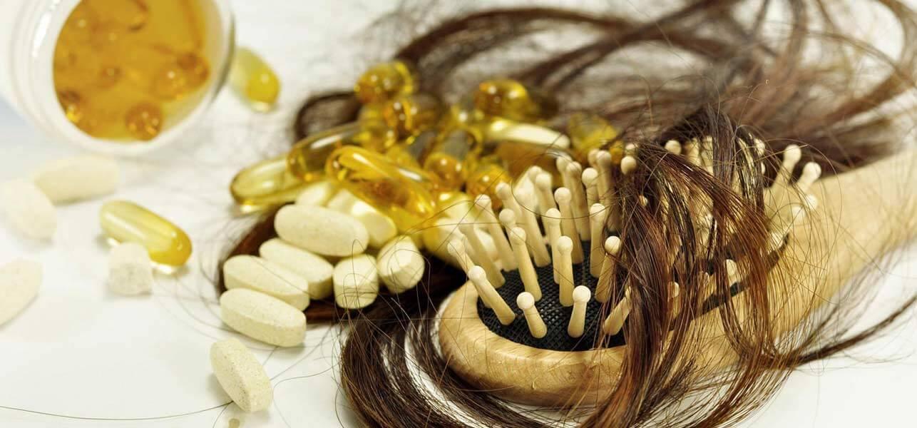 اثرگذاری دریافت مکمل ها در درمان ریزش مو