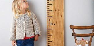 جدول قد و وزن کودکان