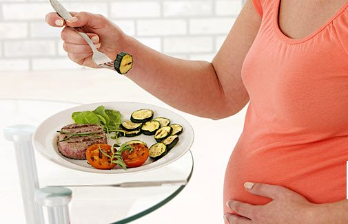 رژیم غذایی در ماه سوم بارداری