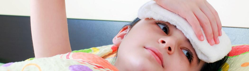 درمان کلی تب و لرز در کودکان