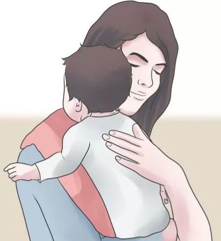 آروغ زدن پس از شیردهی جهت جلوگیری از نفخ شکم