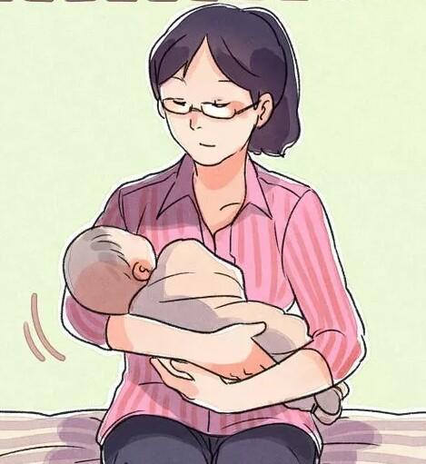 تکان دادن نوزاد برای درمان نفخ شکم