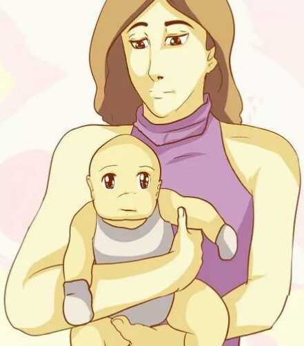 شکل بغل کردن نوزاد برای درمان نفخ شکم
