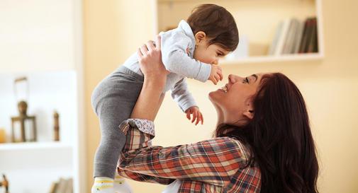 نوزاد نه ماهه در هفته چهارم