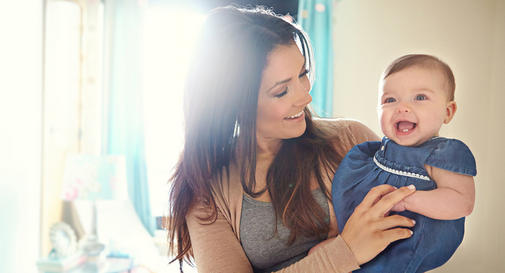 نوزاد نه ماهه در هفته دوم