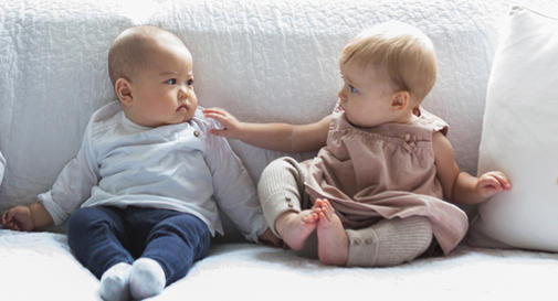 نوزاد هفت ماهه در هفته چهارم