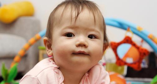 هفته دوم نوزاد ده ماهه