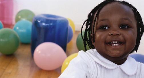 نوزاد دوازده ماهه در هفته سوم