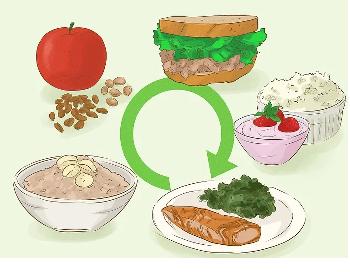 خوردن وعده های کوچکتر برای جلوگیری از افت فشار خون