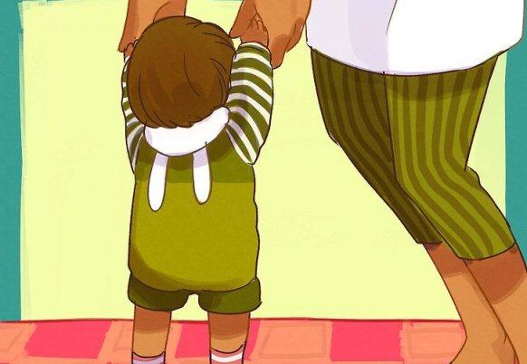 راه رفتن کودک