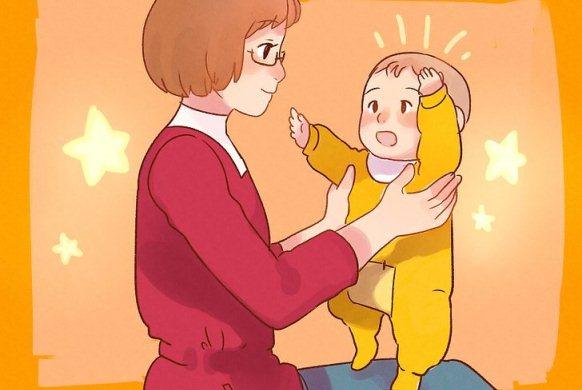 کمک به ایستادن کودک