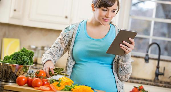 مصرف انواع سبزیجات در بارداری