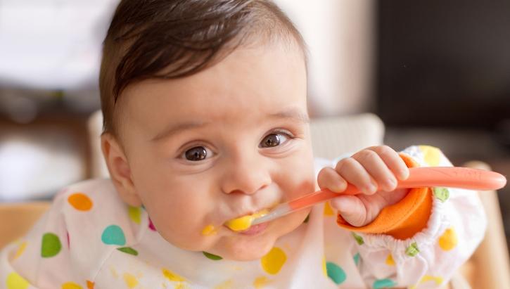 غذای نوزادان و کودکان از