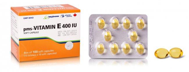 دوز مصرفی قرص ویتامین E