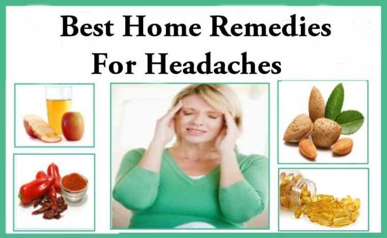 روش خانگی درمان سردرد