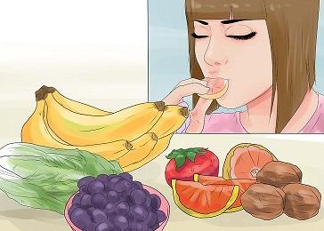 مصرف میوه و سبزی برای درمان جوش صورت