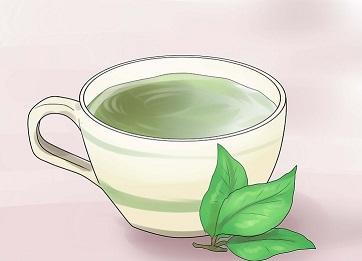 برای بهبود جوش صورت چای سبز بخورید