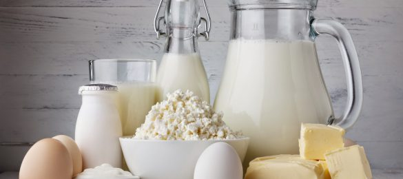 محصولات لبنی برای وزن گیری جنین