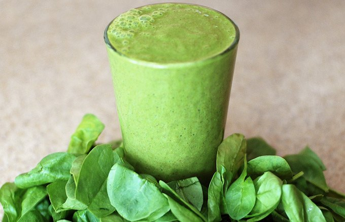 نوشیدنی سبز با کالری بالا