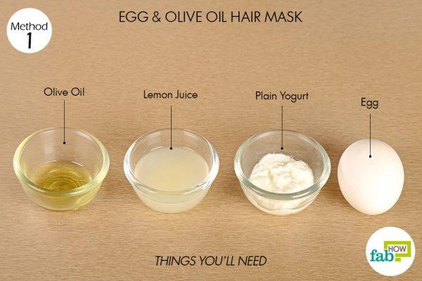 ماسک تخم مرغ برای ریزش مو