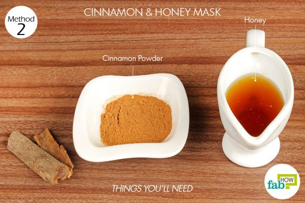 ماسک ضد جوش عسل و دارچین