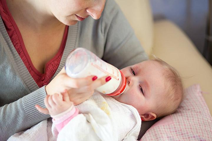 حساسیت نوزاد به شیر گاو