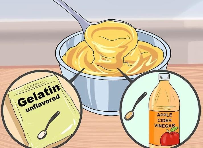 مصرف ژلاتین برای درمان موخوره