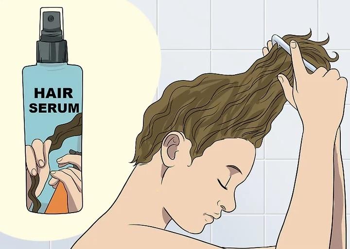 استفاده از سرم مو برای جلوگیری از موخوره