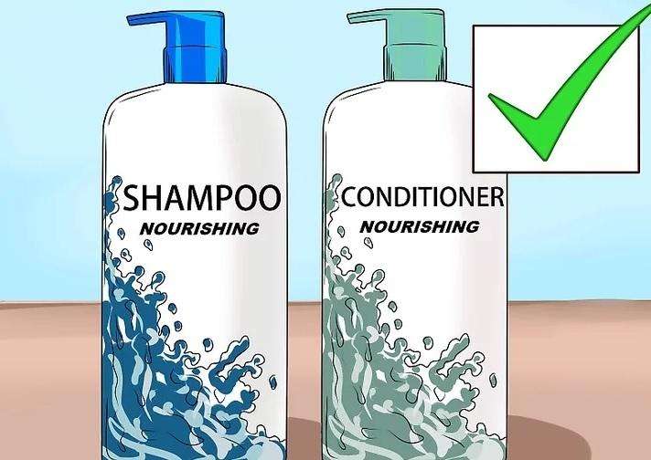 استفاده از شامپو و نرم کننده مناسب
