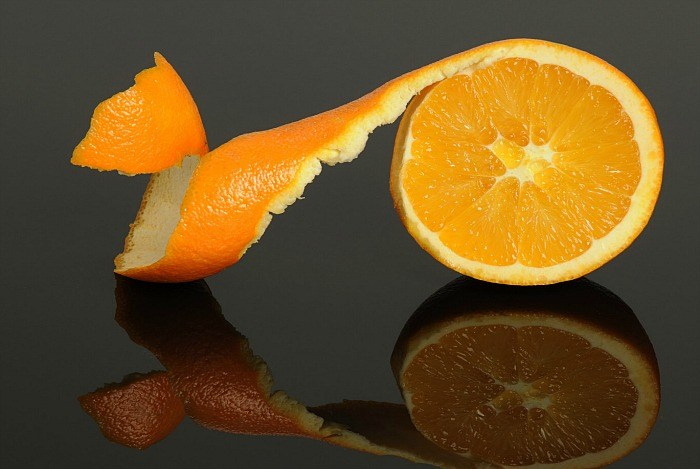 پوست پرتقال و شوره سر