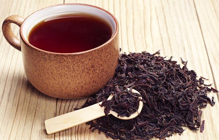 چای سیاه و جلوگیری از سفید شدن مو