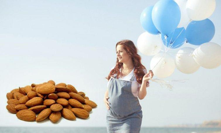 عوارض جانبی مصرف بادام در بارداری