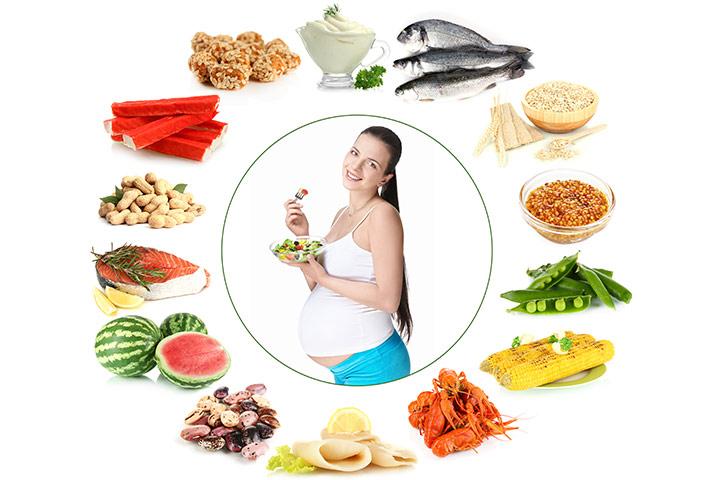 غذاهای ممنوعه در سه ماهه اول بارداری