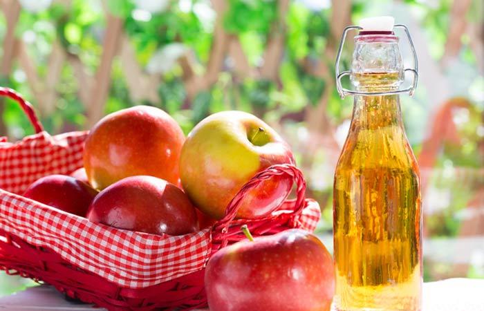 سرکه سیب برای منافذ پوستی