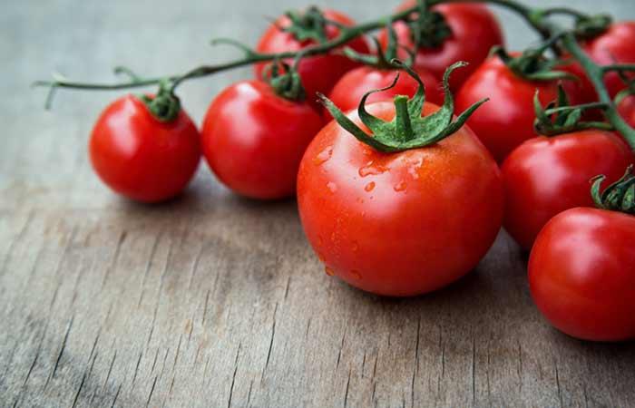 گوجه فرنگی و منافذ باز پوست