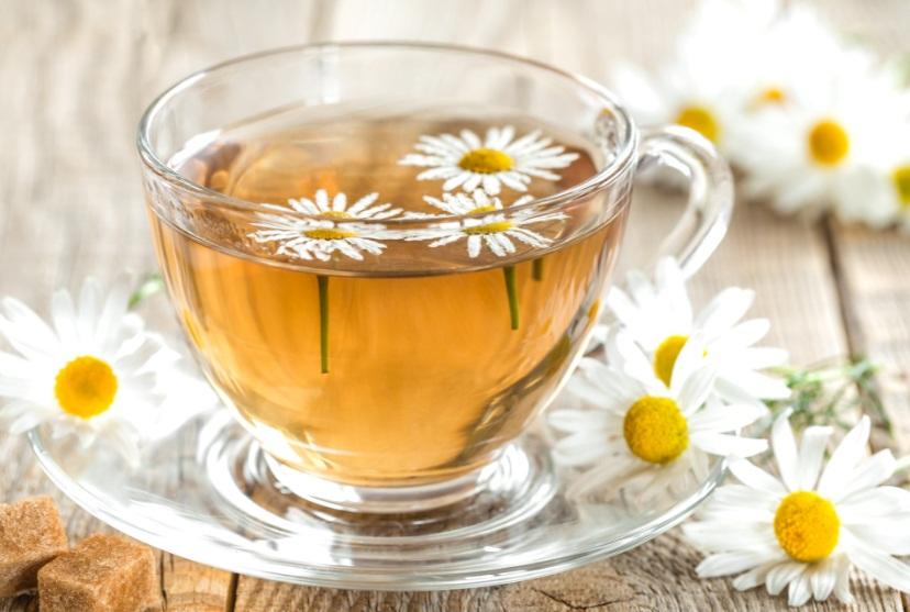 چای بابونه و دمنوش لاغری